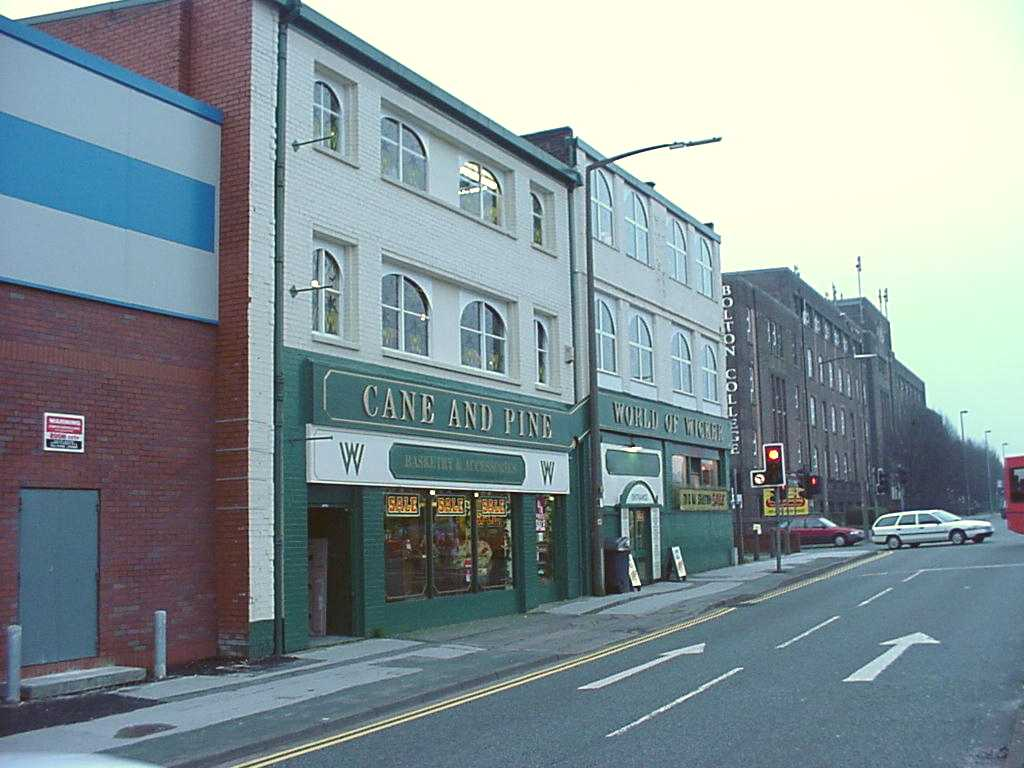 Virtual walk bradshawgate junction trinity st for Cane and wicker world